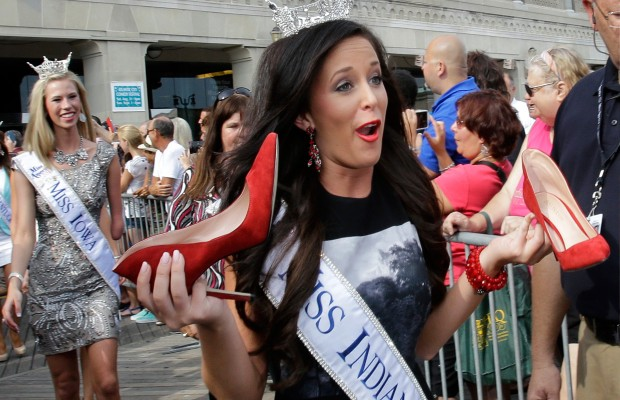 Miss America's Shoes… YIKES!
