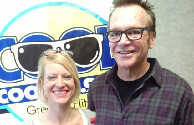 Tom Arnold and Amy Nelson